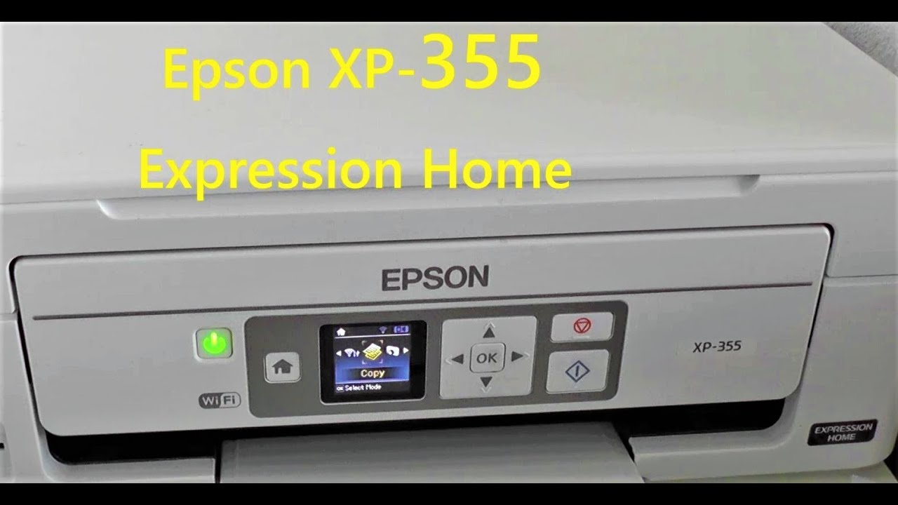 Epson XP355 : what ink ? (and replacing)