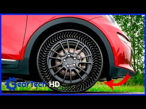 Amazing car inventions that are at another level ➤  Michelin airless tires