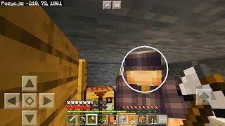 Minecraft na Telefon - ON STRACIŁ TWARZ!!!! #4