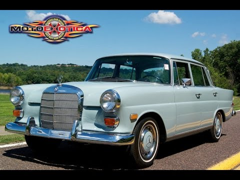 1968 mercedes benz 200 diesel sold youtube. Black Bedroom Furniture Sets. Home Design Ideas