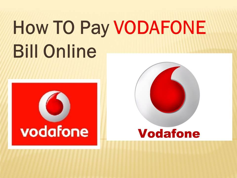 How to pay VODAFONE Bill Online?
