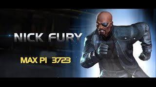 Nick Fury Special Moves | Marvel Contest of Champions