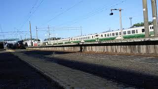 東北6県DC津軽号 東能代発車 E655系和