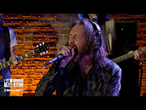 """The Black Crowes """"Hard To Handle"""" On The Howard Stern Show"""