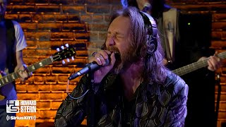 "The Black Crowes ""Hard to Handle"" on the Howard Stern Show"