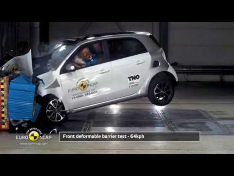 Euro NCAP Crash Test of Smart forfour 2014