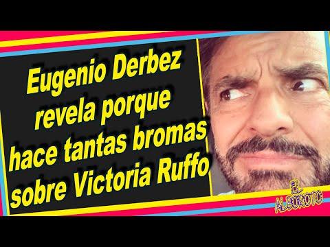 Eugenio Derbez confirma porque se burla cada que puede de Victoria Ruffo.