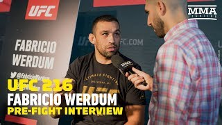 Fabricio Werdum on Flap with Tony Ferguson, Defends Relationship with Ramzan Kadyrov - MMA Fighting
