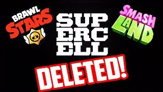 SUPERCELL DELETES ANOTHER GAME?! A Brawl Stars Mystery!