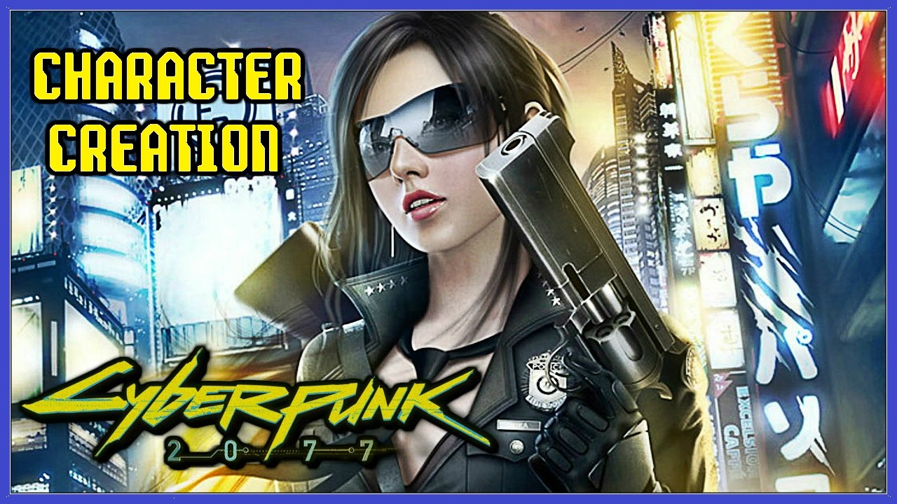 Cyberpunk 2077 Character Creation, Customisation and ...