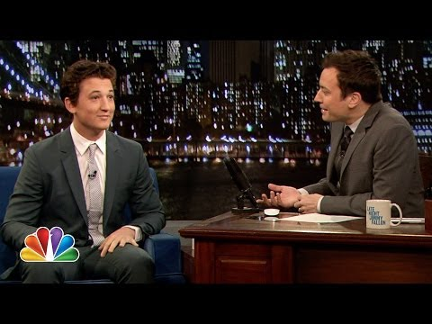 Miles Teller Is a Man of Many Talents (Late Night with Jimmy Fallon ...