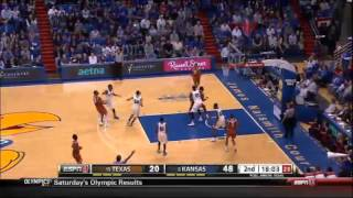 02/22/2014 Texas vs Kansas Men