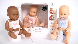 Mon Classique Drink & Wet Bath Baby Dolls from Corolle