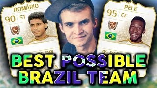 FIFA 14 | BRAZIL IS AMAZING! FT. PELE & ROMARIO