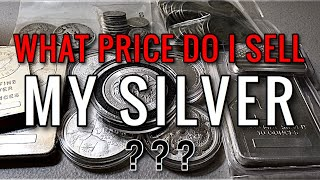 At What Spot Price Would I Sell My Silver? (Inflation is Kicking in)
