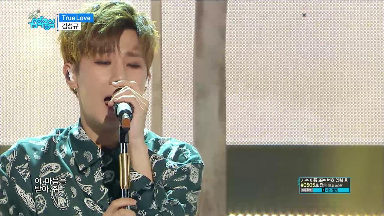 【TVPP】Kim Sunggyu - 'True Love', 김성규 - 트루 러브 @Show Music ...