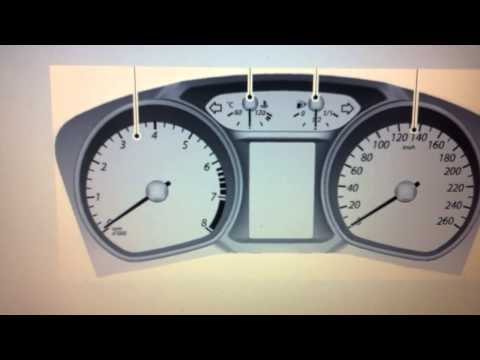 Ford Mondeo Mk4 Dashboard Warning Lights & Symbols - What They Mean