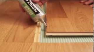 видео Самостоятельная укладка ламината легко осуществима