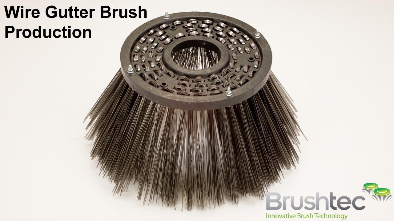 wire gutter brush production - Gutter Brush