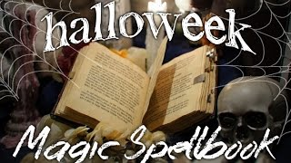 How to Make a Magic Spellbook -Corded Binding-Sewn in Head/tail Bands-(P)leather Bound- ~Halloweek~