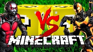 Minecraft: DIRTY LUCKY BLOCK CHALLENGE | Ant-Man VS Ant-Man thumbnail