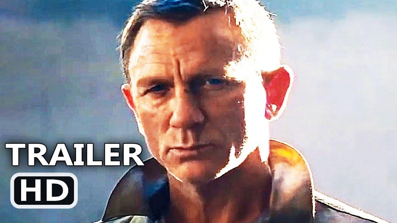 James Bond No Time To Die Official Trailer Teaser 2020 Daniel Craig Rami Malek Movie Hd
