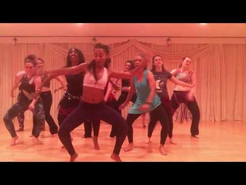 Tribal Fusion Belly Dance To Baltimore House Music