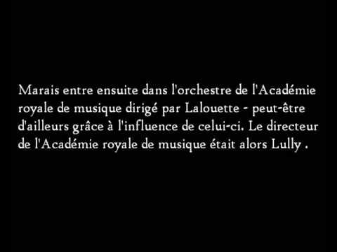La Rêveuse - Marin Marais