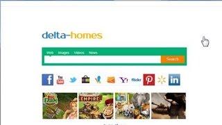 Как удалить Delta-homes.com с главной страницы браузеров