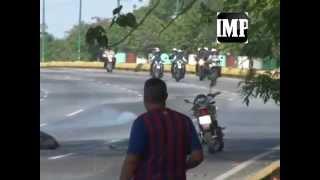 #6M: Enfrentamientos entre efectivos y estudiantes en El Cardenalito 06/05/2014 #Barquisimeto