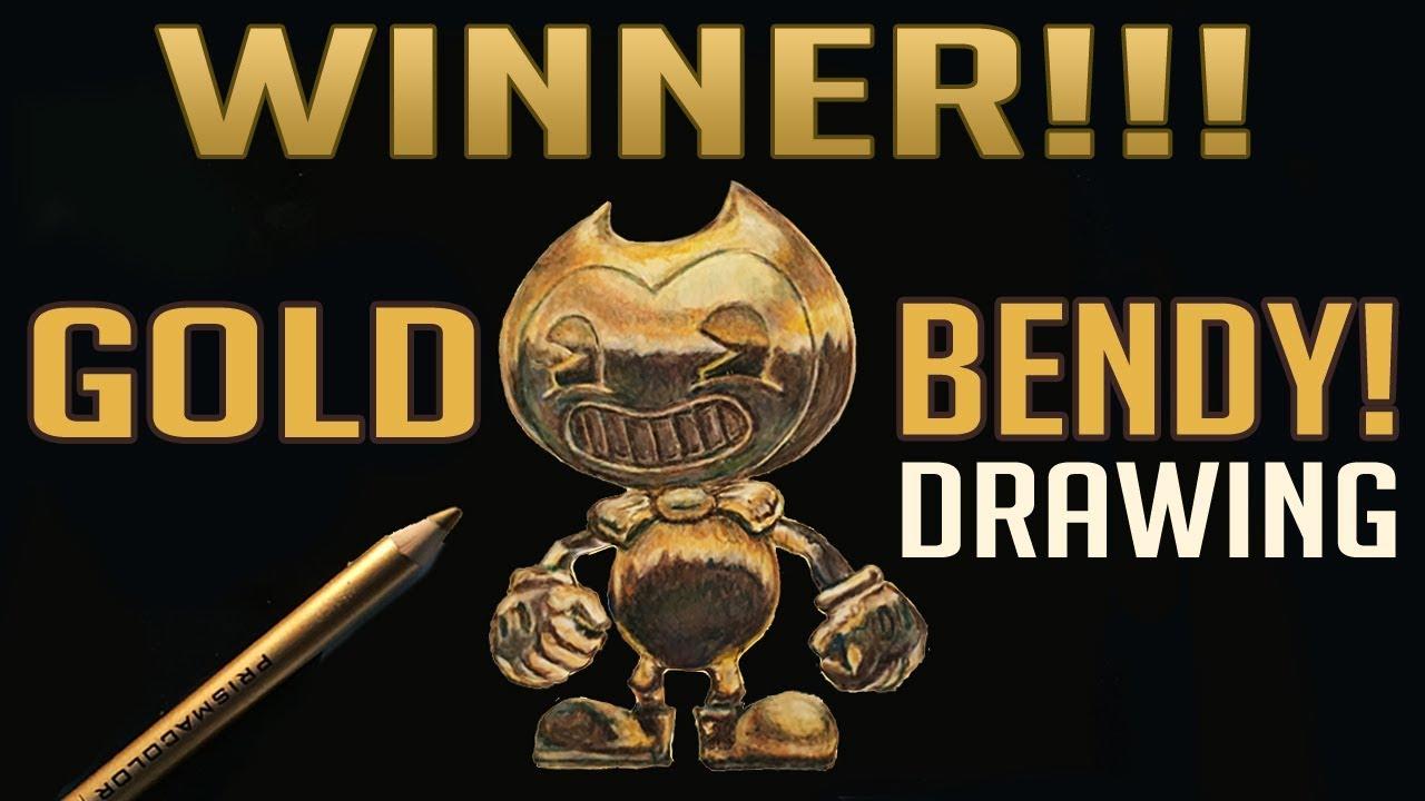 Gold Bendy Drawing Winner! Random Number Generator (Give-Away)
