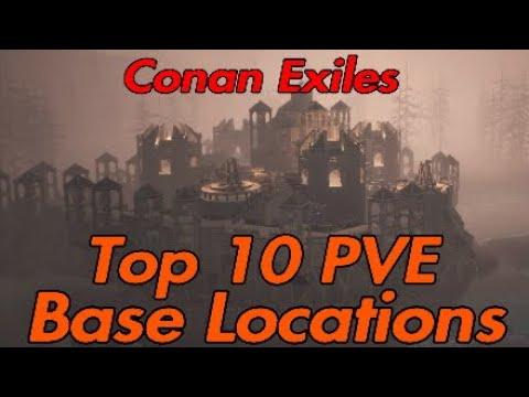 Conan Exiles Top 10 PVE Base Locations 2020