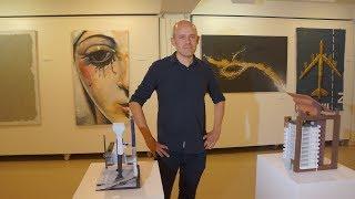 Iñaki Mariñelarena, pintura eta maketa erakusketa. 2018 iraila