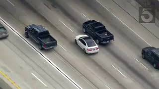 Los Angeles Police Chase white Honda Accord (Nov. 3, 2017)