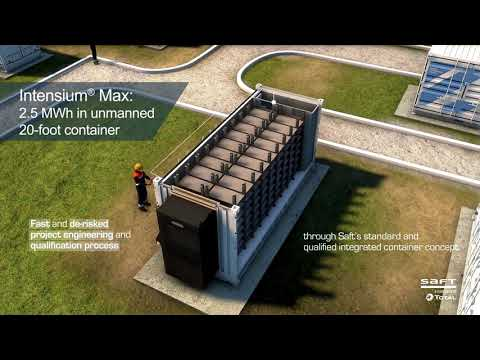 Saft delivering fully integrated energy storage solutions