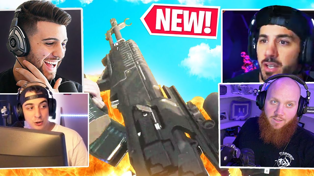 The NEW GRAU? The AN-94 is INSANE! ft. Nickmercs, Timthetatman, Cloakzy - Call of Duty Warzone