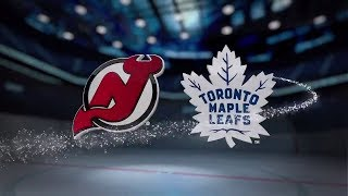 New Jersey Devils vs Toronto Maple Leafs - October 11, 2017 | Game Highlights | NHL 2017/18.Обзор.