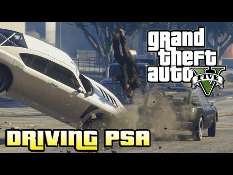 GTA V PC: DON'T TEXT & DRIVE! (Rockstar Editor Film)