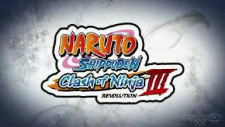 Naruto Shippuden: Clash Of Ninja Revolution 3 [Trailer]