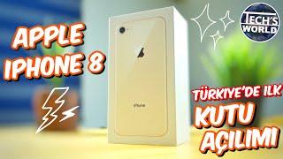 iPhone 8 Kutu Açılımı - Türkiye'de İlk !