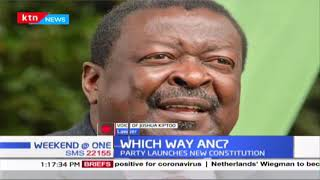 Which way ANC? Political Commentator, Joshua Kiptoo speaks on the launched new constitution
