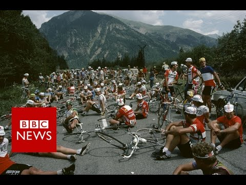 A celebration of cycling – the glamour and the grit - BBC News