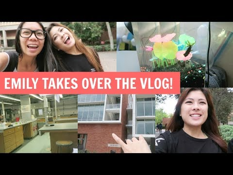 A Day In The Life Of A UCLA BioChem Major! Emily Takes Over The Vlog!