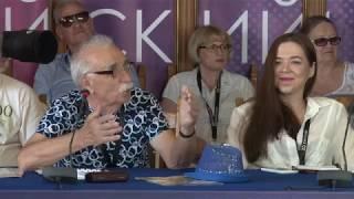 Пресс-конференция фильма «Одесса», реж. Валерий Тодоровский