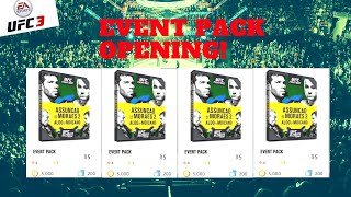 EA SPORTS UFC 3 - EVENT PACK OPENING EPIC DROP! + ITEM REVIEWS - ULTIMATE TEAM
