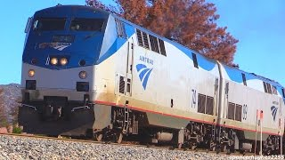 Amtrak Trains in LA, Santa Barbra + MANY MORE !!!