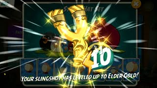 Angry Birds 2 | Hat Shop | Slingshot Has Leveled Up To Elder Azure
