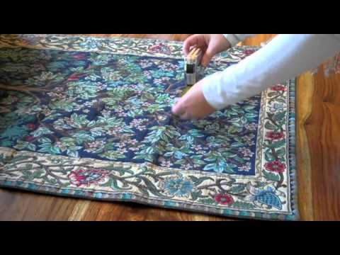 How To Hang A Wall Tapestry Youtube