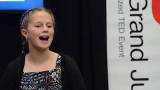 Persistence and Growth | Delaney Brinkley | TEDxYouth@GrandJunction