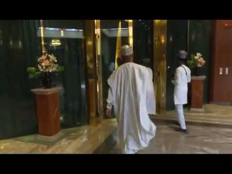 President Buhari Meets Senate President Bukola Saraki